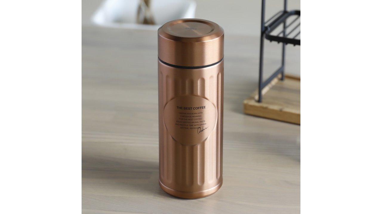 外も中も抗菌加工で安心!テフロン加工のコーヒー専用ボトル