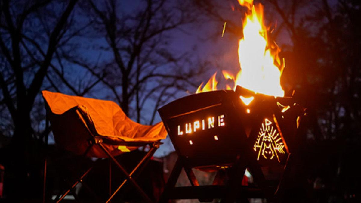 イイトコドリの焚き火台。頑丈で多用途なLUPINEが超頼れる