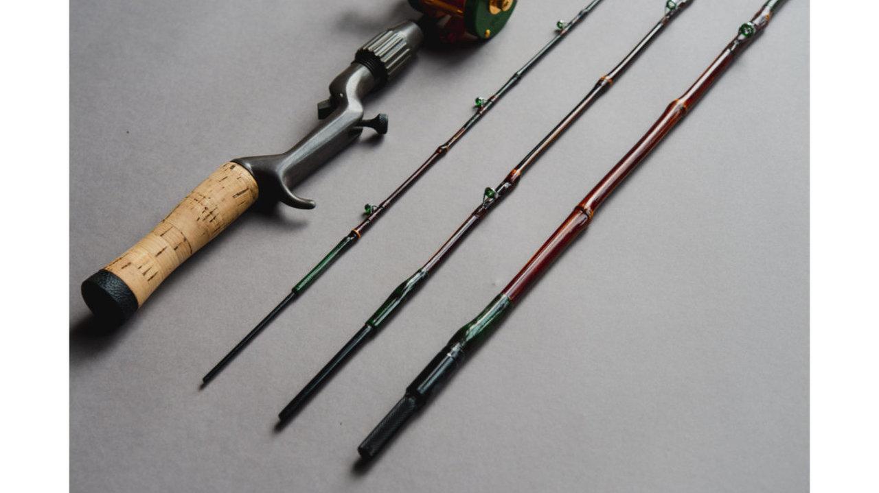 和竿の世界をルアーフィッシングで。カスタマイズも可能な受注生産「渓流ルアー和竿」