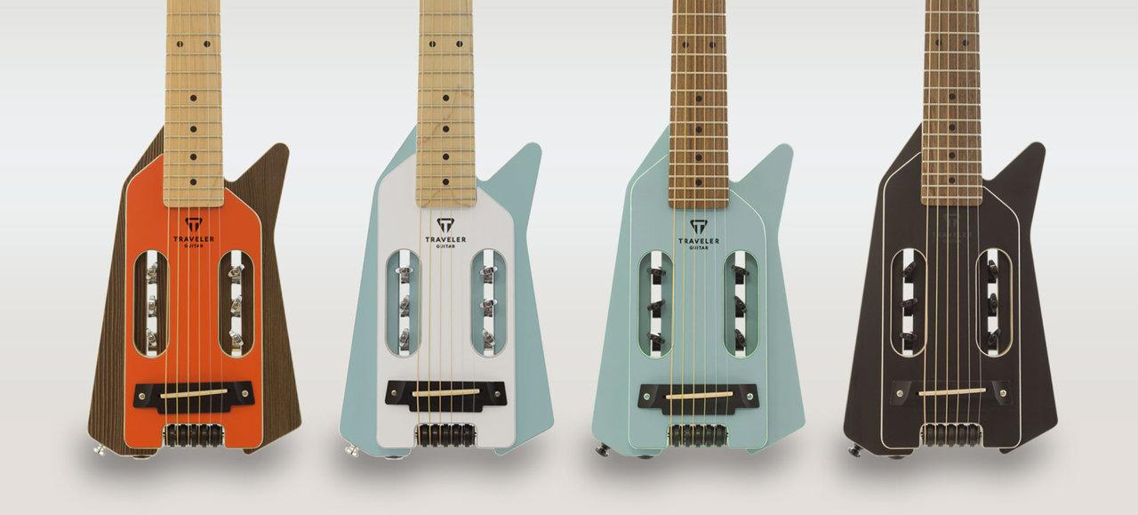 アウトドアに連れ出したい!超コンパクトでタフなヘッドレスギター
