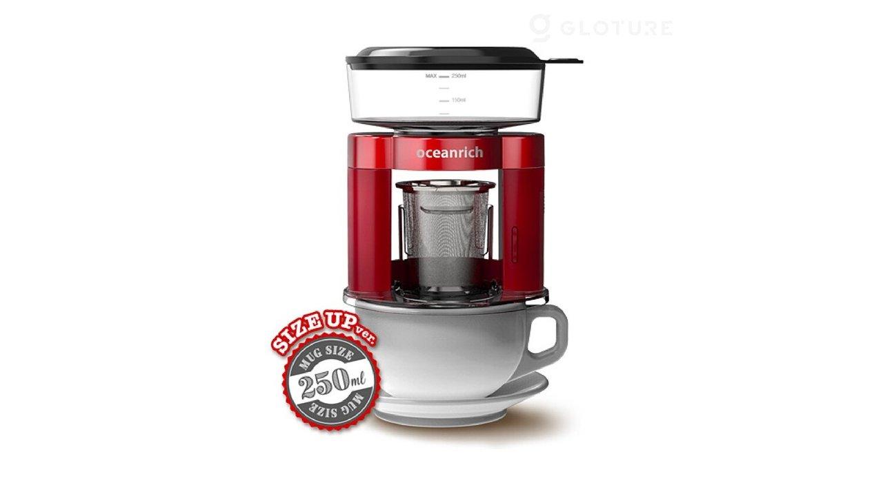 ゴクゴクコーヒーが飲める!ハンドドリップのように抽出できる自動ドリップ・コーヒーメーカー