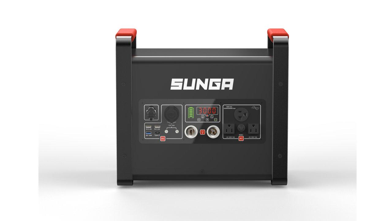 発電機が不要に!ソーラー充電もできる規格外のポータブル電源「LK3000」