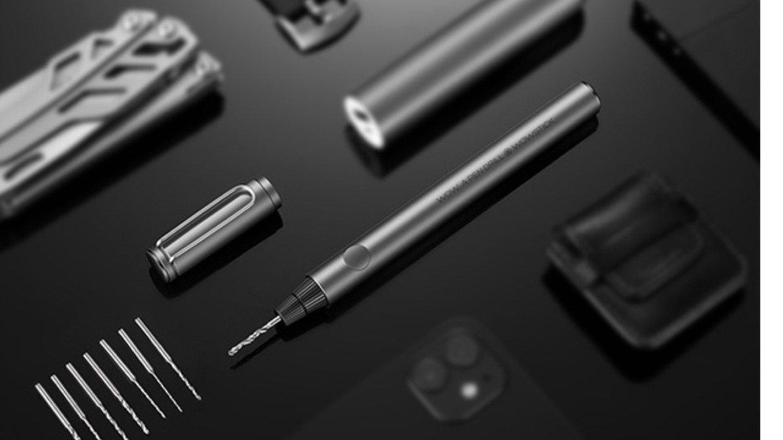 ペンのように持ちやすい!超軽量&スタイリッシュなDIY用ペン型ハンドドリル