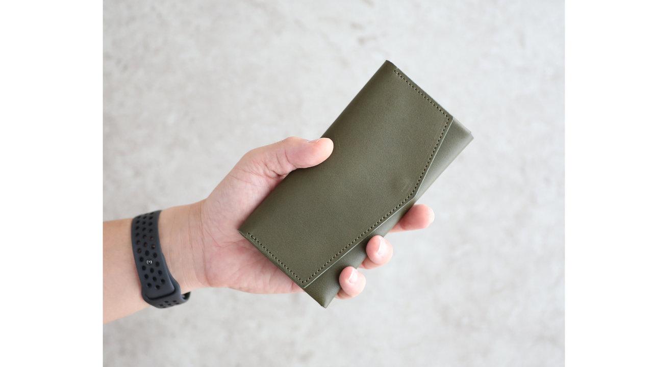 長辺16.5cm!長財布の最小サイズを目指した「il modo(イルモード)」が超コンパクト