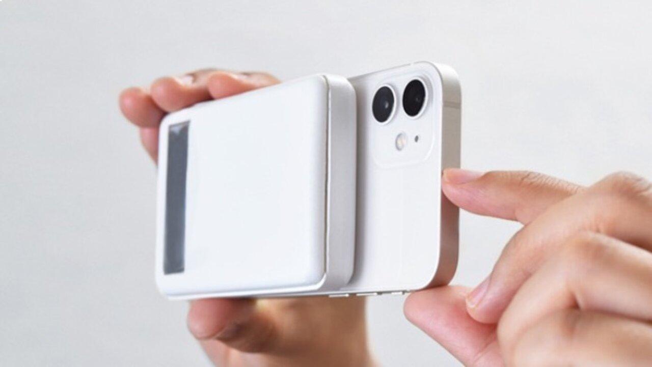 アップルウォッチの充電とワイヤレス充電が一つでできるワイヤレスバッテリーが超便利