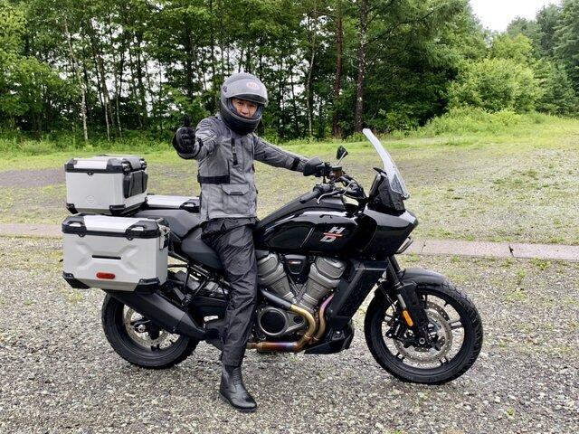 バイク界のラスボス!ハーレーダビッドソンのニューモデル、パン アメリカには最新技術がいっぱい