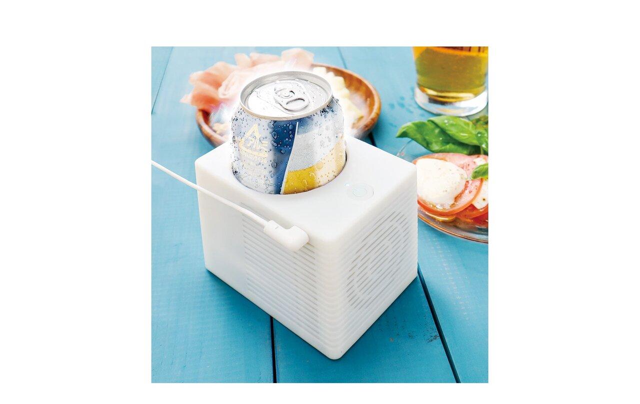 外でもキンキンに冷やせる!アウトドアで、デスクで大活躍するUSB給電式の保冷機