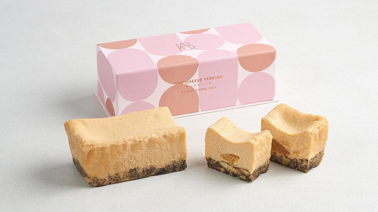 ブランド初のフレーバー!初夏の恵みを味わい尽くす、BAKE「桃とアールグレイのチーズテリーヌ」
