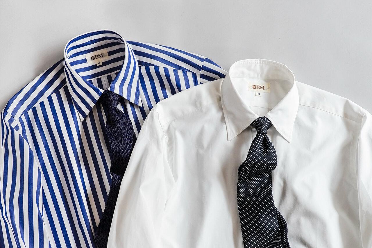正統派「モダンブリティッシュ」。オトコを格上げするスタイリッシュなドレスシャツ
