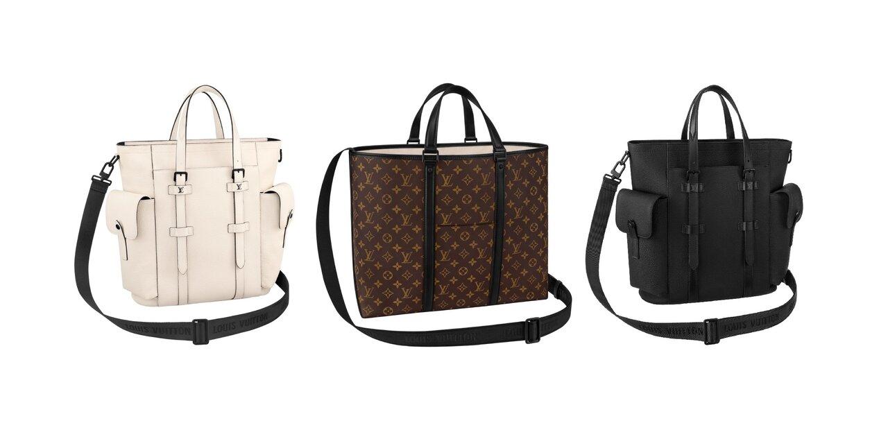 ルイ・ヴィトンの伝統的なデザインが進化!シックで使いやすい新作メンズトートバッグ