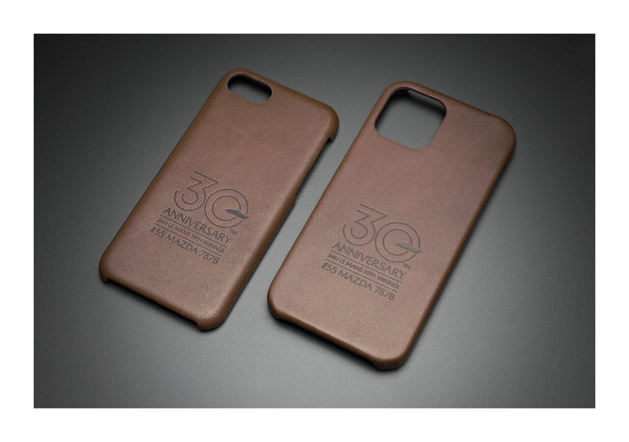 マツダルマン優勝30周年記念!マツダ787Bのカラーや車種をプリントした特別仕様のiPhoneケース