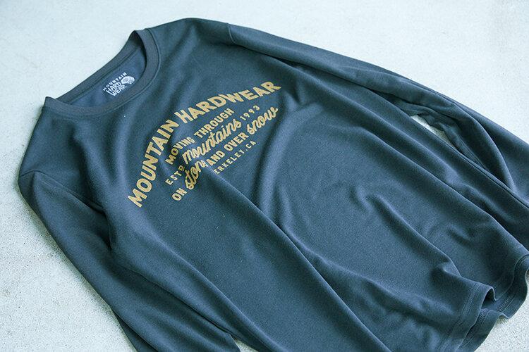 登山やクライミング、ウィンタースポーツを愛するあなたに。カットソーコレクション「logowear」