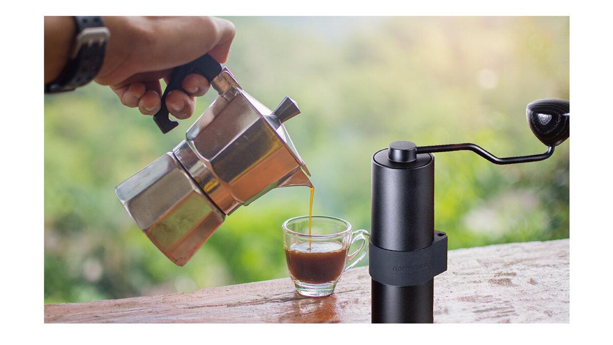 自宅で楽しむ、挽きたて淹れたての贅沢。コーヒーグラインダー「バリスタ・ネロ」で最高の一杯を