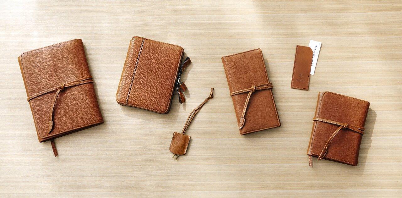 土屋鞄×ほぼ日手帳!国産牛革で仕立てられたオリジナル手帳カバー