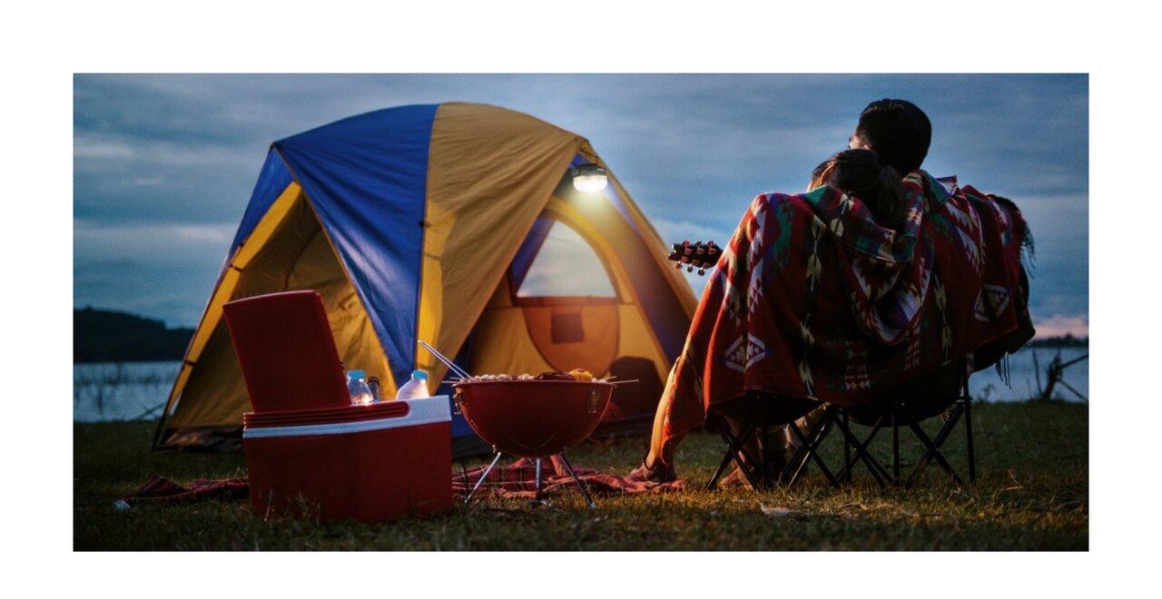 ミニマムで使いやすいライトをキャンプに。充電式コードレスキャンプライト