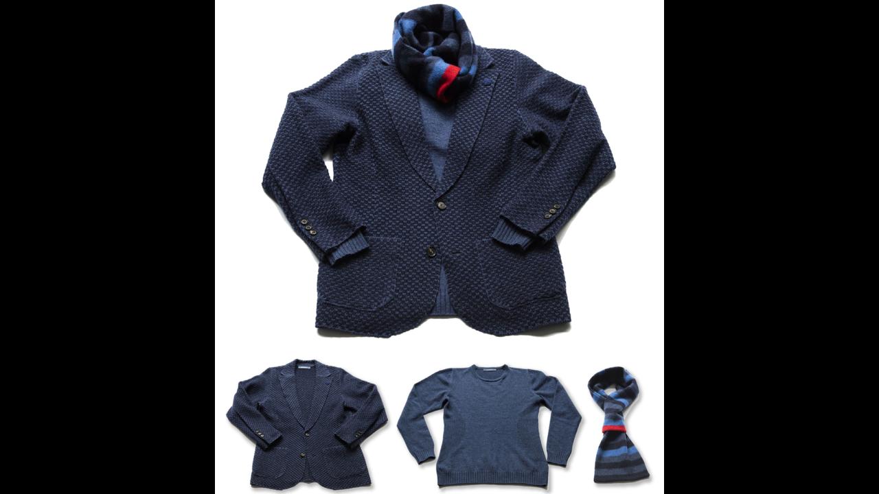 ミドル世代に必要なスマートカジュアル。究極ニットジャケットを軸にした「メンズアンサンブル」