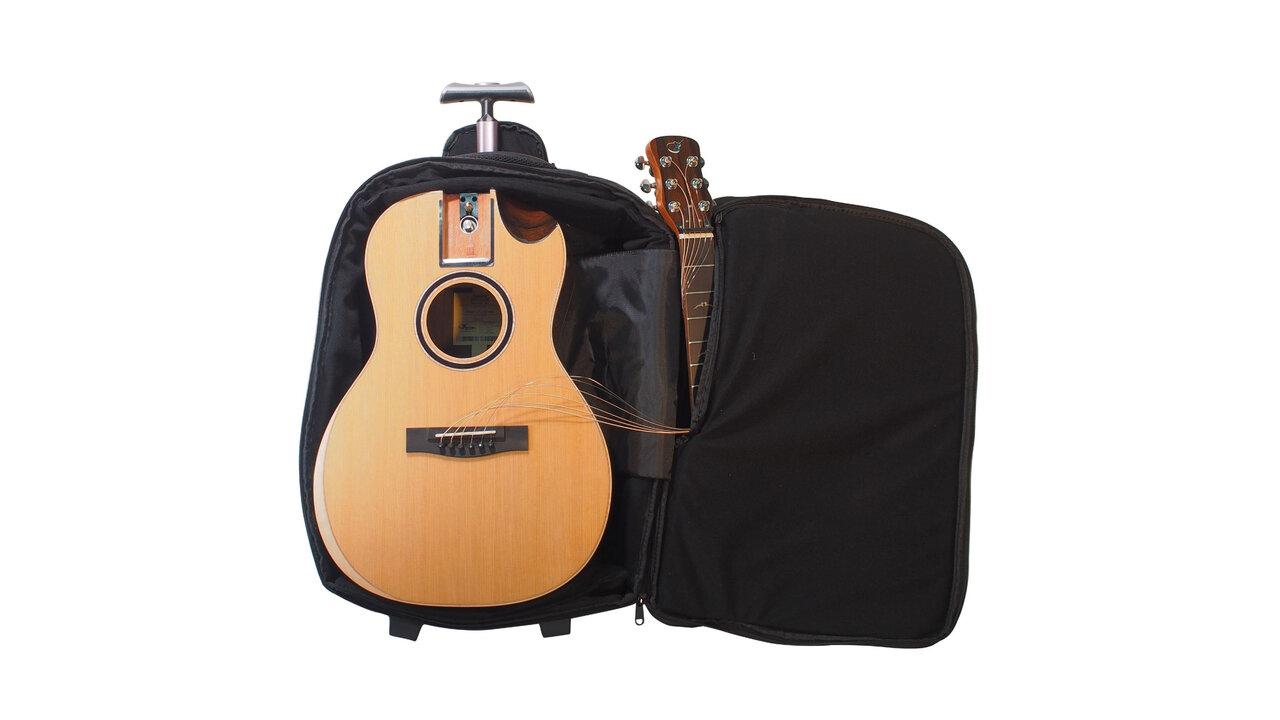 バックパックで持ち運べる!芸術の秋はトラベルバッグギターでどこでも音楽三昧