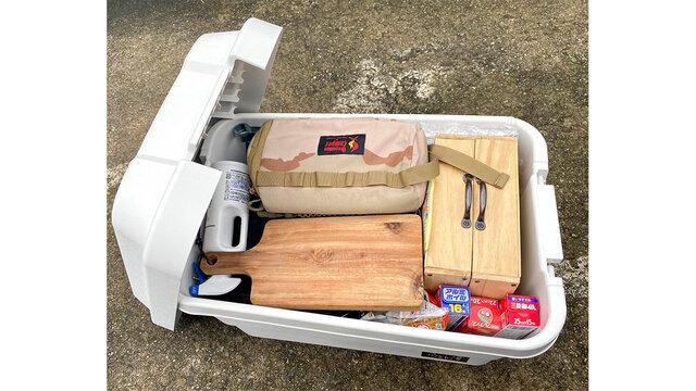 キャンプ収納は無印良品が良い。なんでも入る「ポリプロピレン頑丈収納ボックス」
