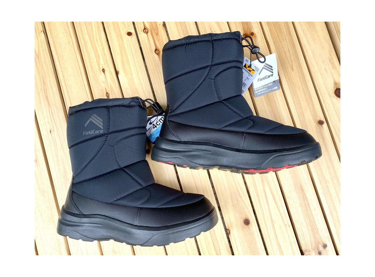 【ワークマン】今年も買いました!あっという間に売り切れてしまう「防寒ブーツ ケベック」