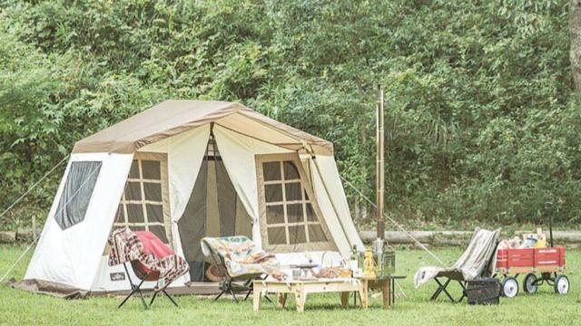 【MADUROセレクション】9月はキャンプ!まるで一軒家な超広々テント、オガワ「オーナーロッジ タイプ52R T/C」