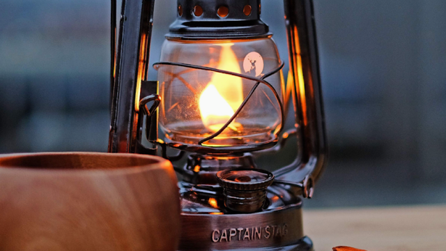 【MADUROセレクション】9月はキャンプ!野外&自宅兼用のオールドデザイン、キャプテンスタッグ「CS オイルランタン」