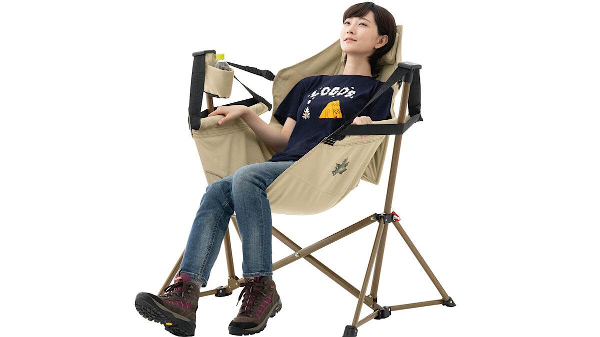 【MADUROセレクション】9月はキャンプ!お手軽なのに座り心地最高♡ロゴス「Tradcanvas ゆらゆらハンモックチェア」