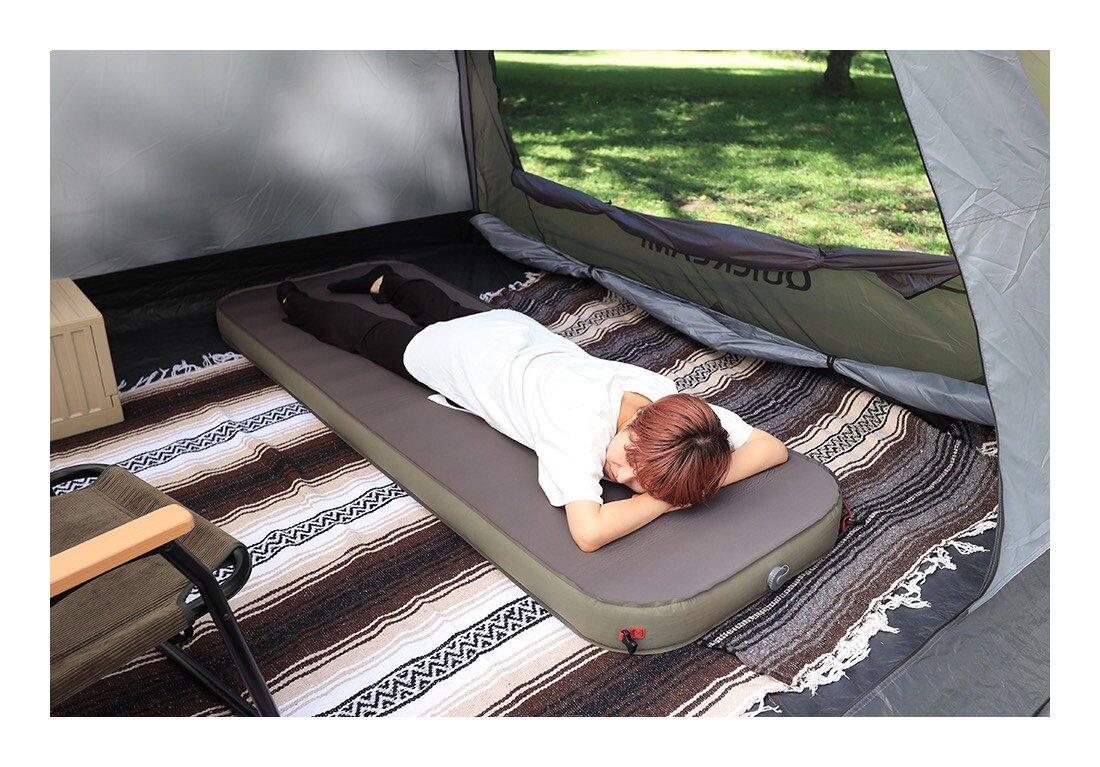 ベッドのような最高の寝心地をキャンプで。極上インフレータブルベッド
