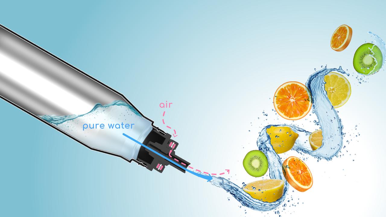 水を飲んでいるだけなのに味がする⁉︎新感覚のフレーバーオンボトル「miraqu」
