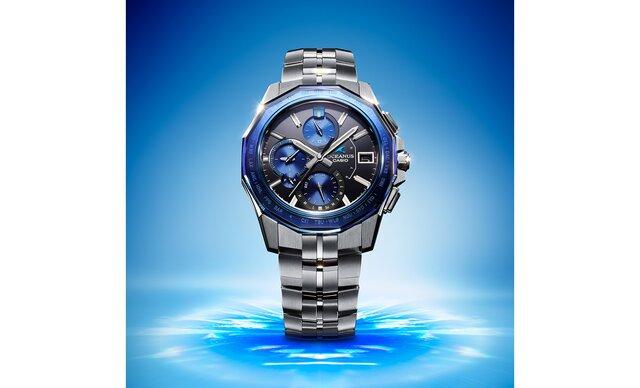 紺碧の海を表現。カシオ計算機より透明感のあるブルーが楽しめる「CEANUS Manta」