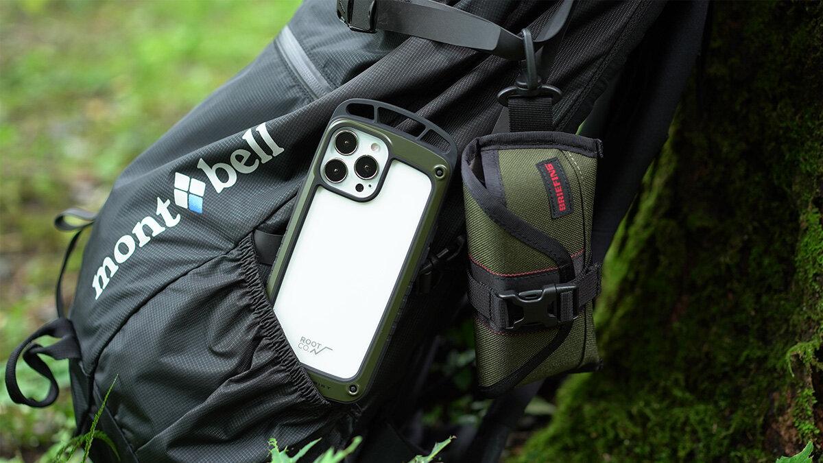 いち早くiPhone13とアウトドアを楽しむ。アクティブなシーンで活躍するROOTのiPhpne専用ケース