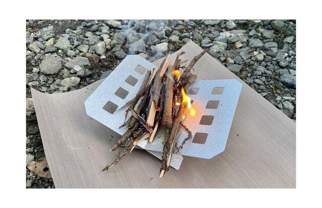 秋冬キャンプに大活躍!100均セリアにあった、焚き火で活躍してくれるアイテムを使ってみた