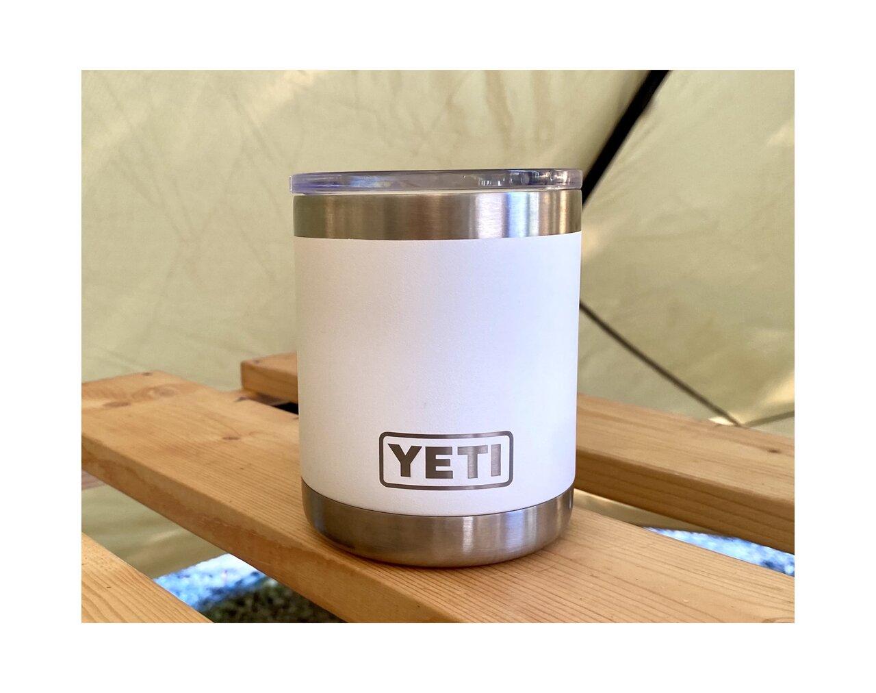 カッコ良くて使いやすい!YETIのランブラーはキャンプにも在宅ワークにも大活躍
