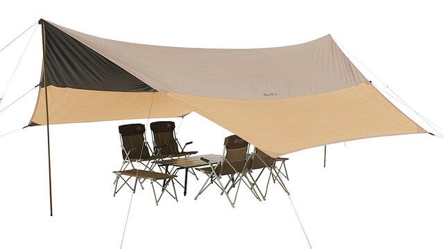 【MADUROセレクション】9月はキャンプ!遮光&UVカットで年中快適、ロゴス「トラッドソーラー クールヘキサタープ-BA」