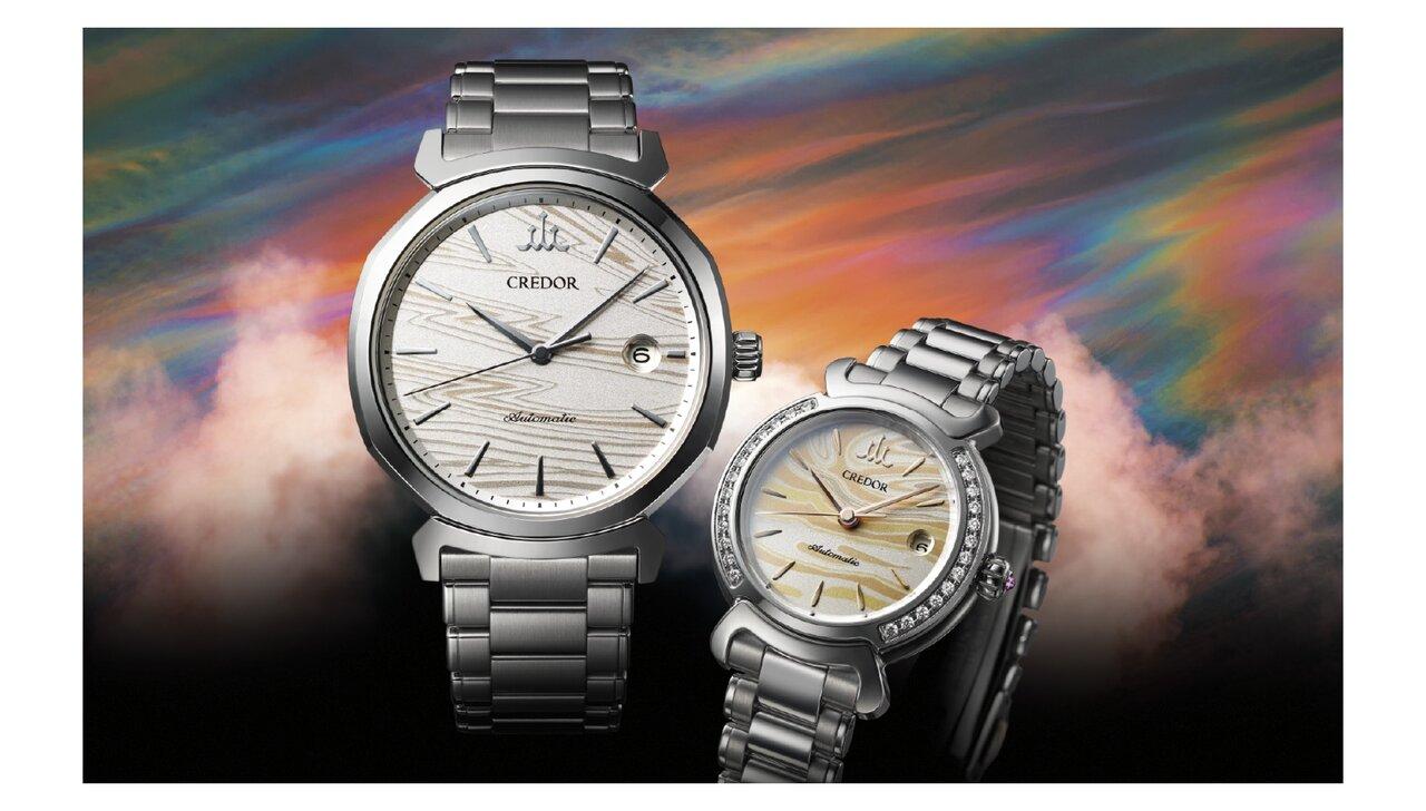 江戸時代から伝わる伝統工芸を腕時計に。「木目金」をダイヤルに採用した限定モデル
