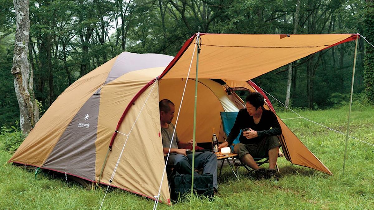 スノーピークが誇る、超ロングセラー入門用テント「アメニティドームS」【MADUROセレクション】10月もキャンプ!