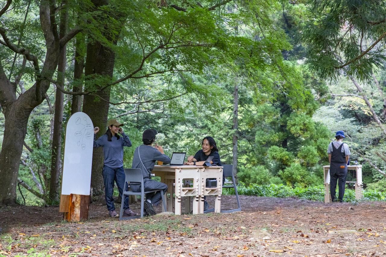 「森の中で働く」新習慣。感性を刺激する「森ワーク」プランが気になる