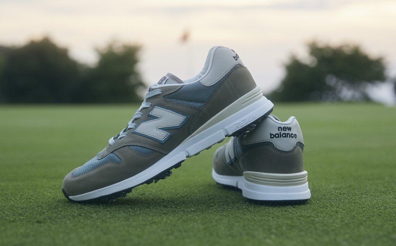 ニューバランスのゴルフシューズ「MG1300JP」で秋のゴルフを楽しもう!