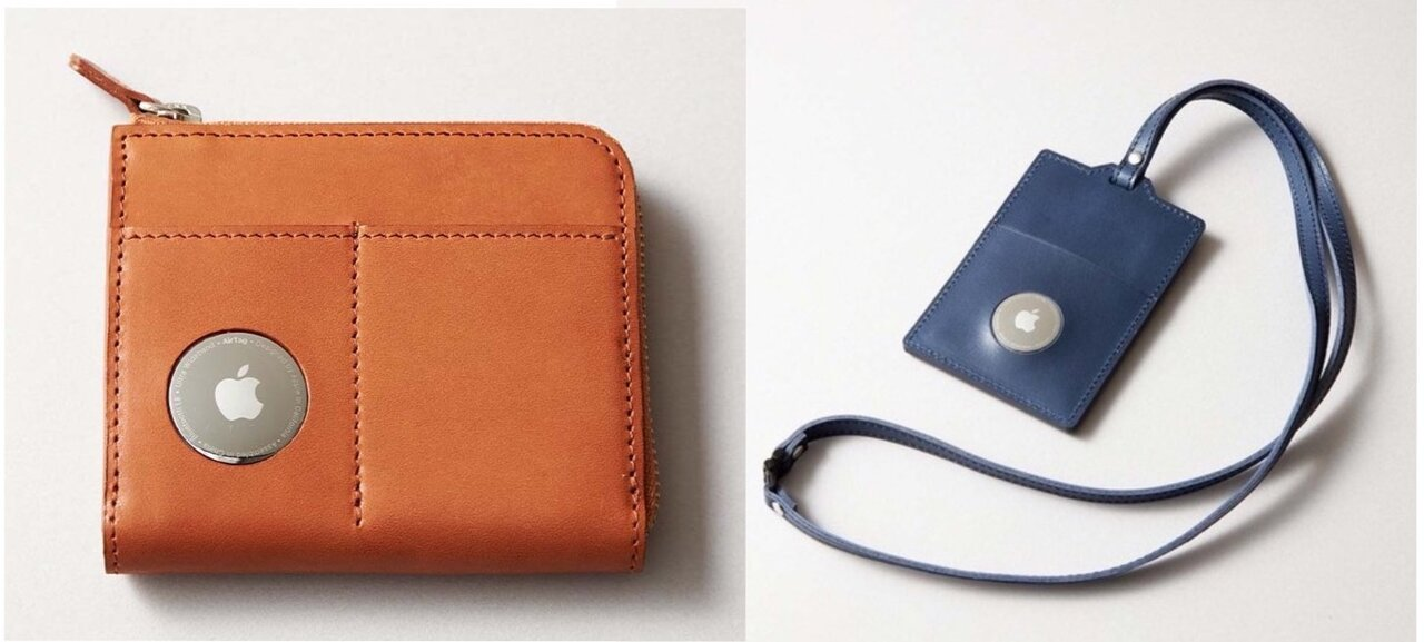 もう財布をなくさない!本革でおしゃれなAirTag専用の財布&IDホルダー