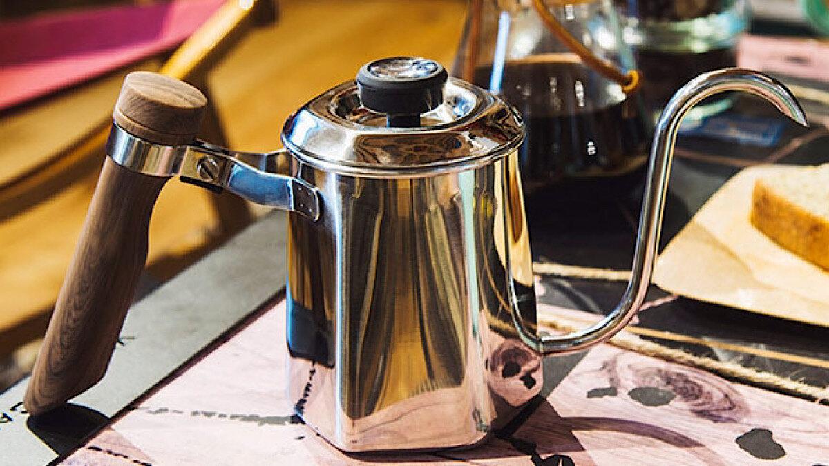 野外で極上ドリップコーヒーを!圧倒的に美しい、オレゴニアンキャンパー「ヘキサポット」【MADUROセレクション】10月もキャンプ!