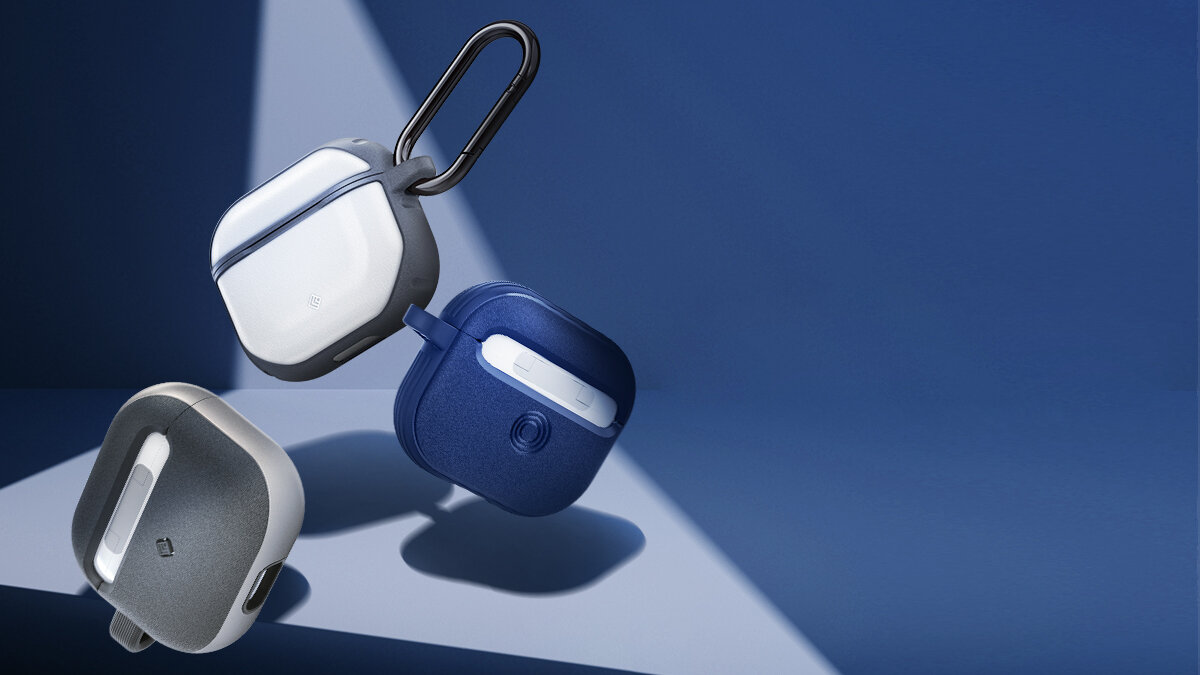 AirPods3対応!デザインだけじゃない、触る楽しさを味わえる耐衝撃ケース3種