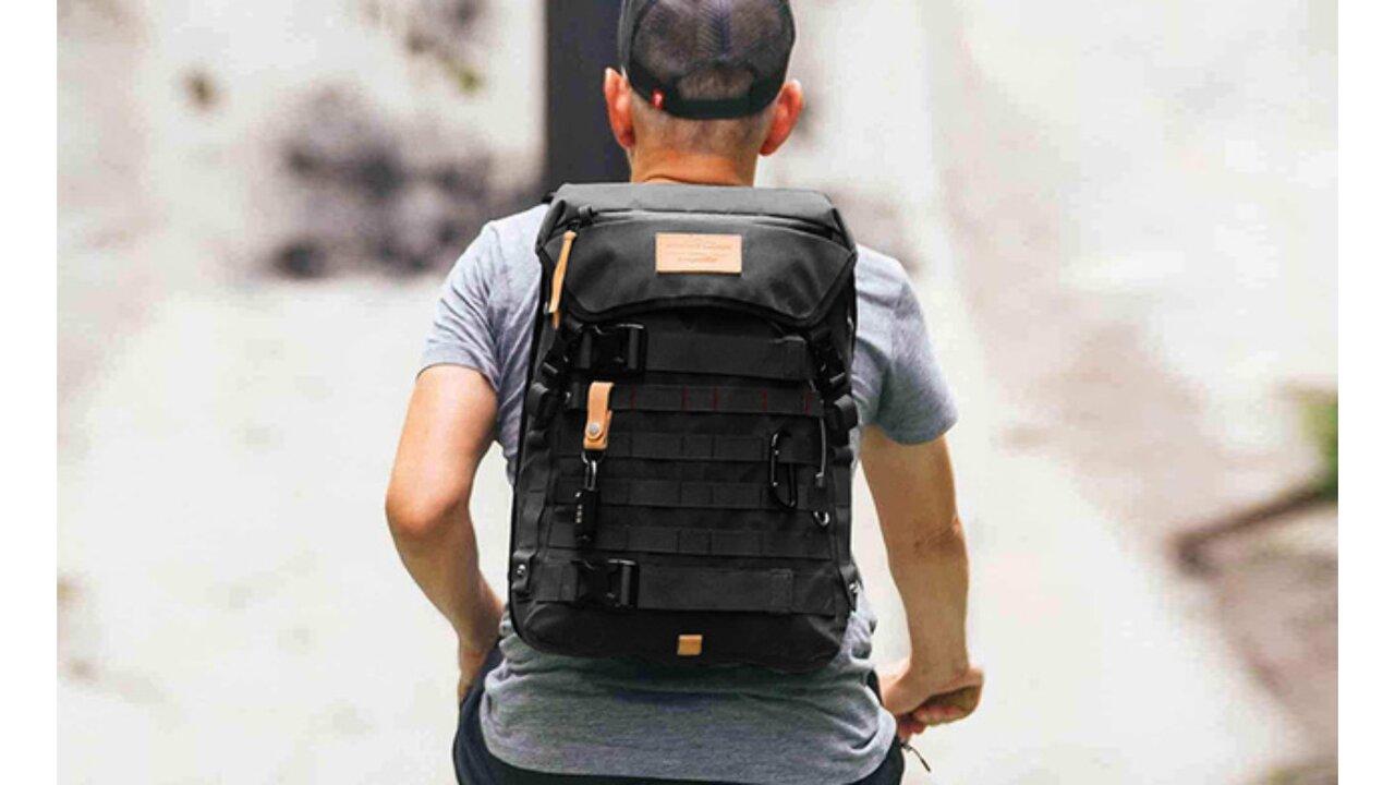 ソロツーリングでも安心!セキュリティ機能搭載の鉄壁バックパック「The Rider Daypack」