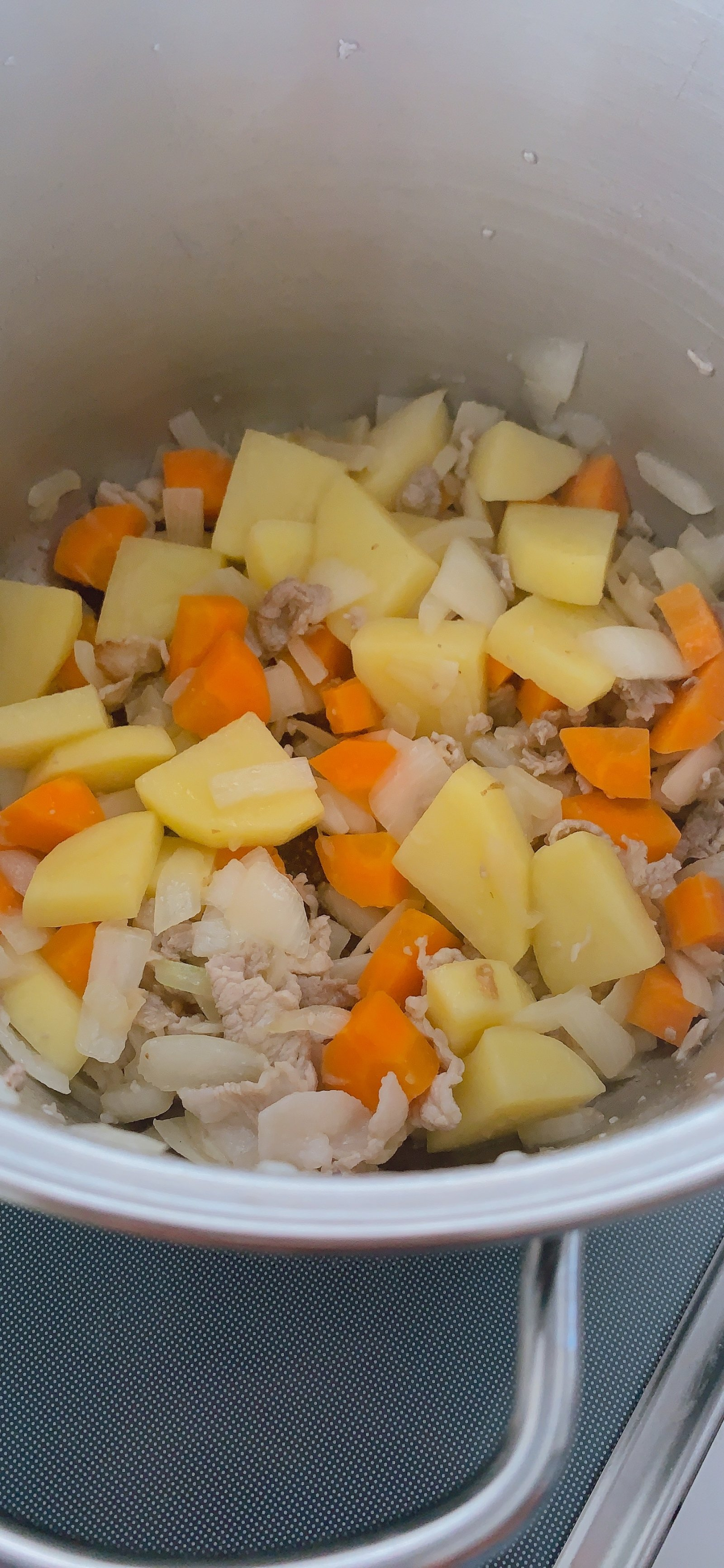 炒めた野菜