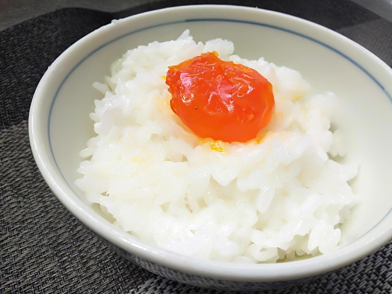 味噌漬け卵黄
