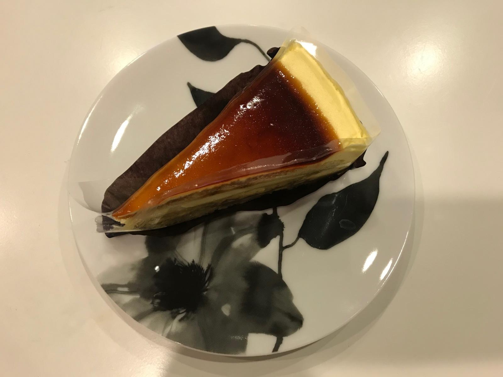 カスタードプリンケーキ