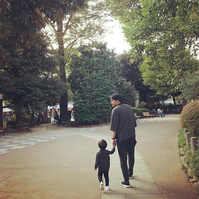 内田朝陽 散歩