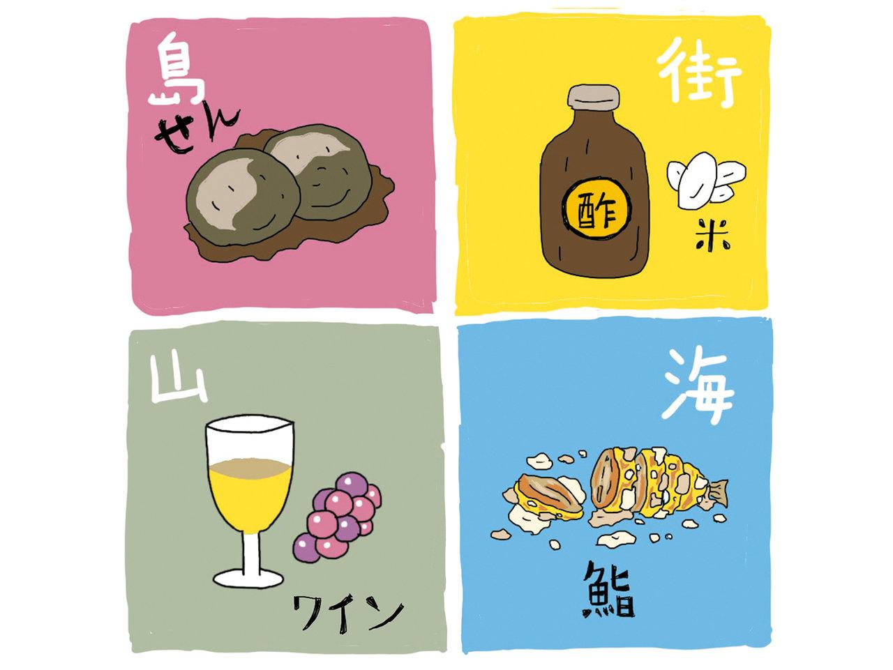海・山・街・島。日本の発酵文化の系譜。