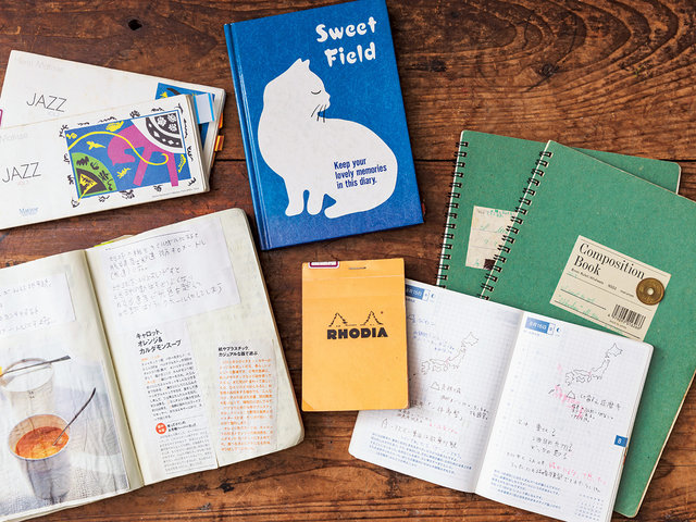 """『手帳類図書室』へ、見知らぬ誰かの手帳を""""読み""""に行く。"""