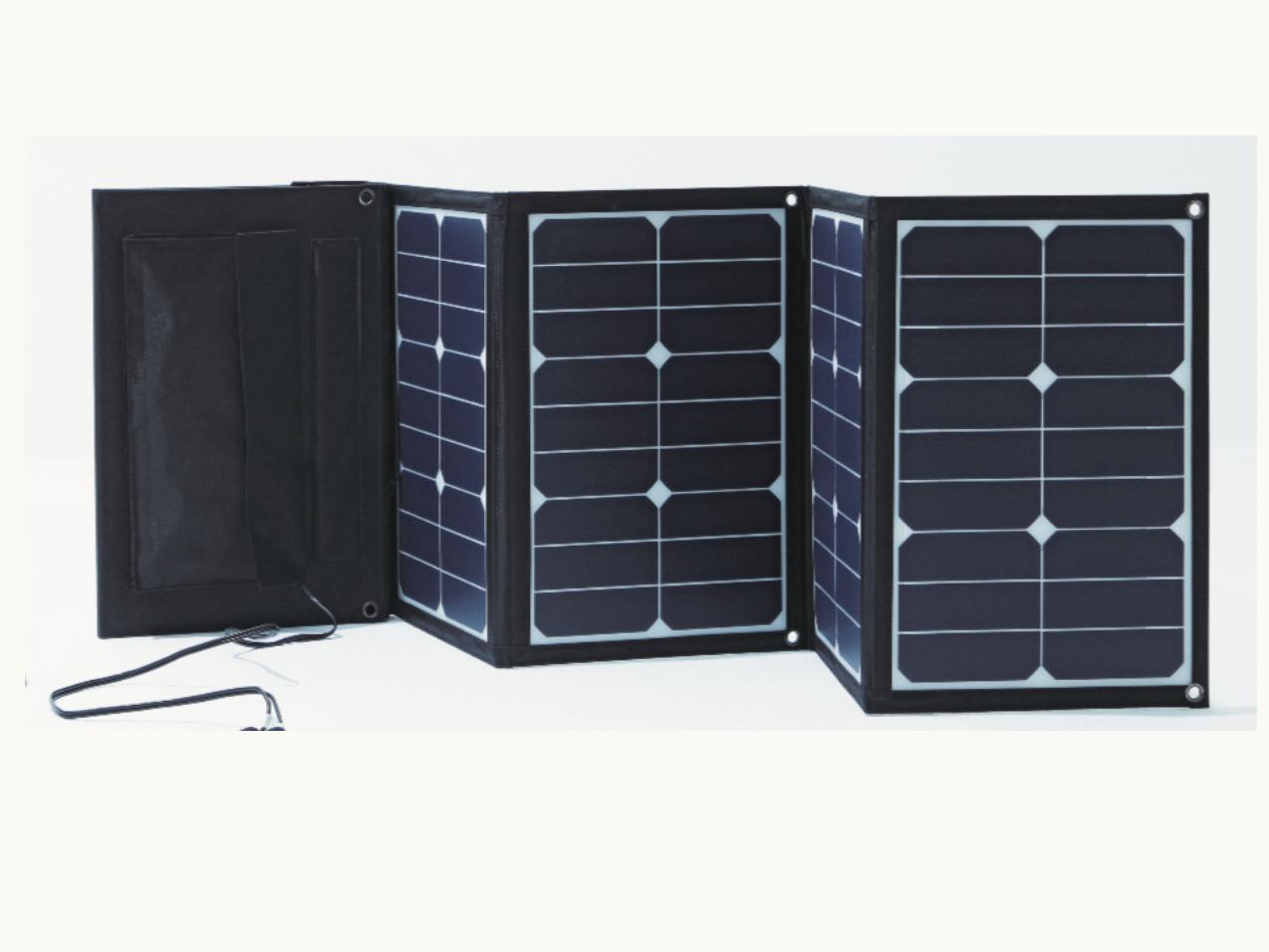 太陽光で発電して蓄電する、未来型電池。「DenkiBank」が、いつでもどこでも電気を届けます。