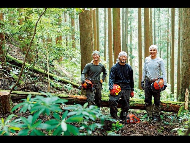 森から地域を変えていく。地域に根付いた「自伐型林業家」。