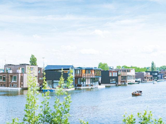 未来のための実験都市。水の上に暮らす「Schoonschip」プロジェクト。